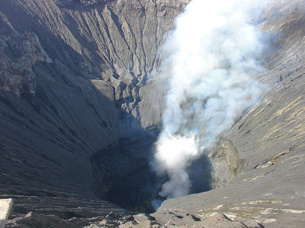 krater wulkanu
