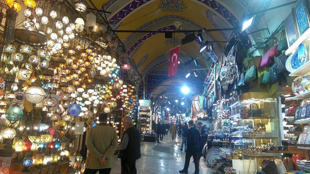 Wielki bazar Turcja