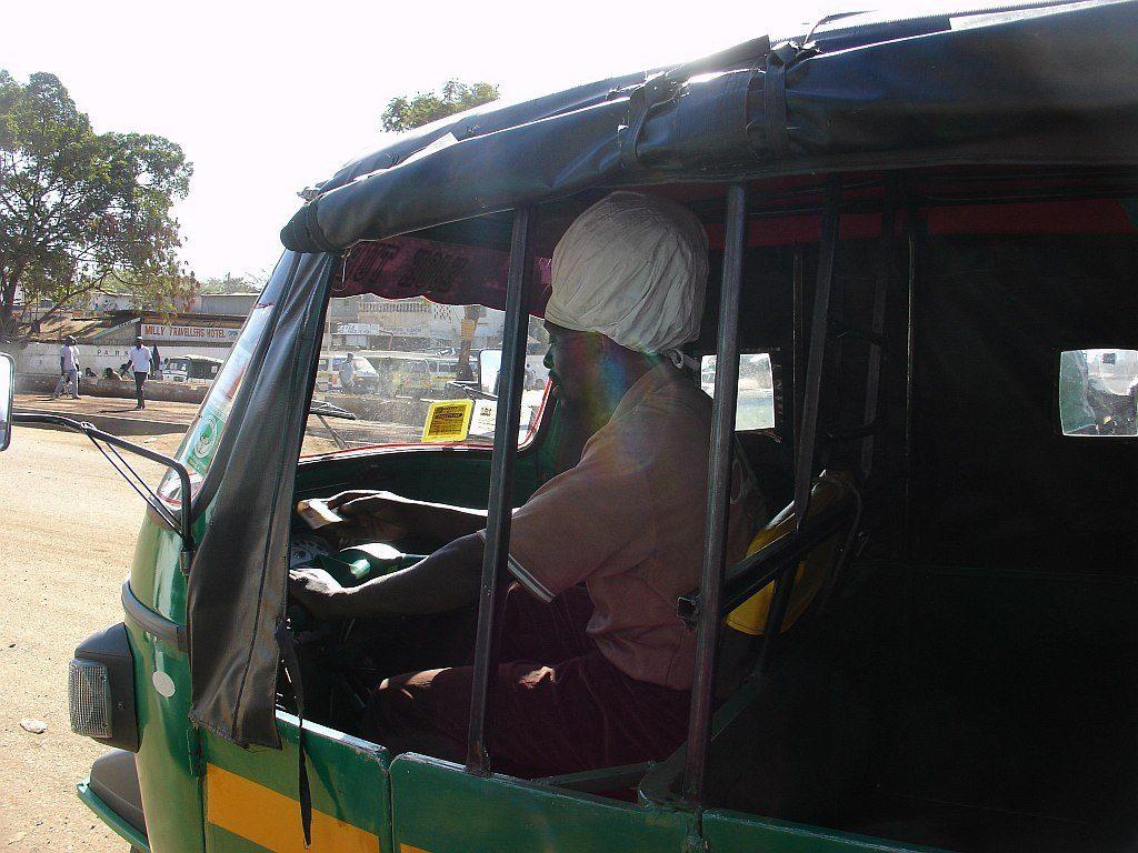 kierowca rikszy